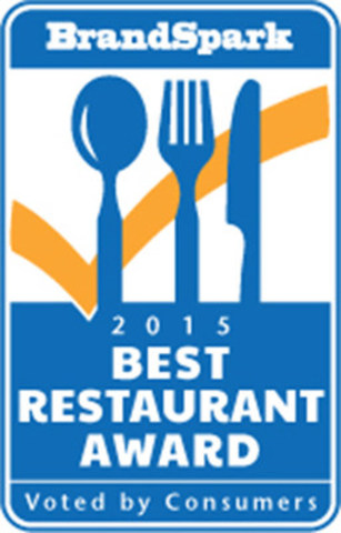 2015 Best Restaurant Award (CNW Group/BrandSpark International)