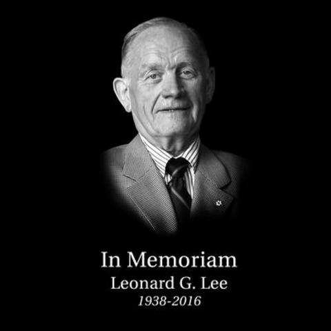 July 7, 2016 -- Leonard Lee, Founder and Chairman of 38-year-old Canadian woodworking and gardening retailer passed away this morning. He was born in 1938 in Wadena, Saskatchewan but lived in Almonte, close to Lee Valley's Ottawa headquarters. (CNW Group/Lee Valley Tools Ltd)