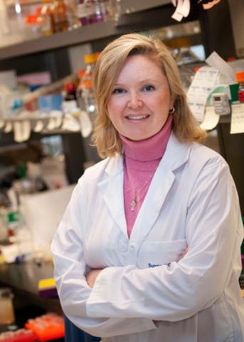 La Dre Catherine O'Brien et ses collègues sont les premiers à étudier le rôle des bactéries intracellulaires - bactéries se trouvant dans les cellules cancéreuses du côlon - dans le développement du cancer colorectal et dans les métastases (propagation). Les premiers résultats de la recherche indiquent que les bactéries intracellulaires peuvent jouer un rôle clé dans la formation et la propagation du cancer du côlon. (Photo crédit: PhotographicsUHN) (Groupe CNW/Société canadienne du cancer (Bureau National))