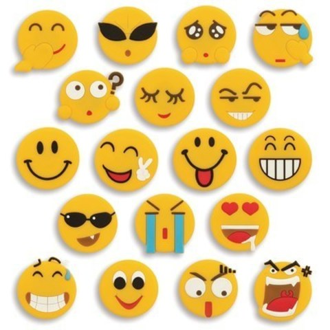 Merangue Emoticon Magnets – Students can showcase their personality with these fun and quirky emoticon magnets. (CNW Group/Staples Canada Inc.)