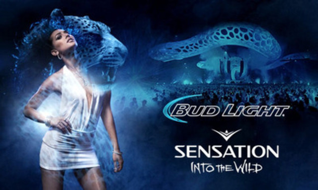 Bud Light Sensation - Into the Wild (CNW Group/Labatt Breweries of Canada)