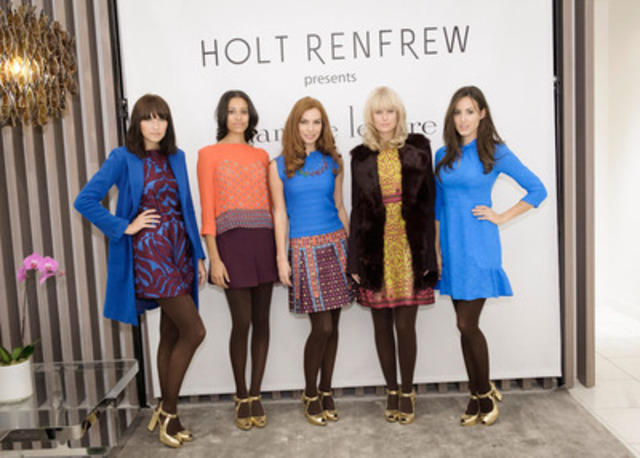 New York based Designer Nanette Lepore visits Holt Renfrew in Calgary for the first time to show her Fall and Holiday 2012 collections on September 20, 2012. (CNW Group/Holt Renfrew)