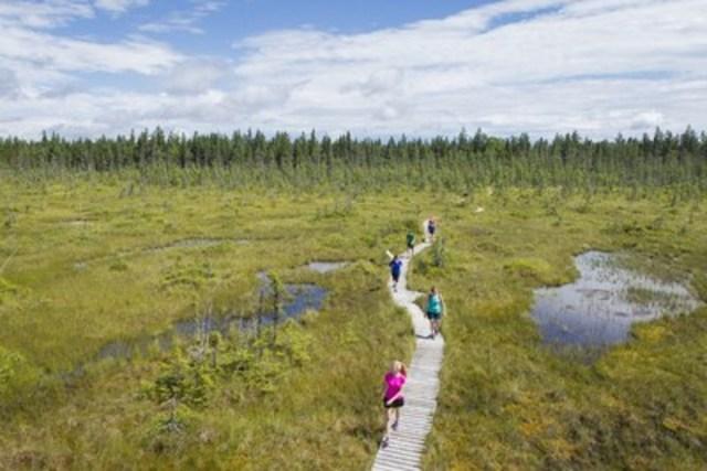 Parc national de Frontenac, secteur Saint-Daniel (Groupe CNW/Société des établissements de plein air du Québec)