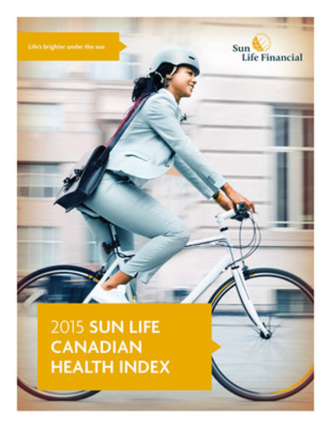 The Sun Life Canadian Health Index measures the attitudes of Canadians towards healthy lifestyles. (CNW Group/Sun Life Financial Inc.)