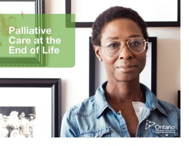 Palliative Care at the End of Life looks at the care and services that palliative care patients received during the critical last month of their life. (CNW Group/Health Quality Ontario)