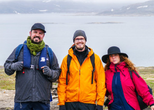 This Mission Business founders on their research expedition to Northern Canada that inspired the creation of See Thee Rise. (CNW Group/See Thee Rise)