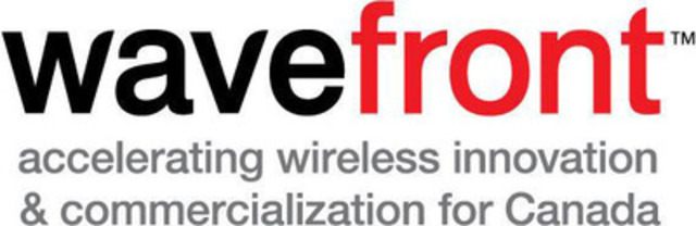 Wavefront: accelerating wireless innovation & commercialization for Canada (CNW Group/Wavefront)