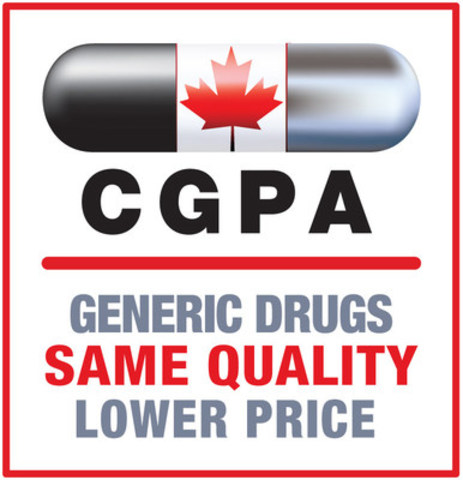 Canadian Generic Pharmaceutical Association (CNW Group/Canadian Generic Pharmaceutical Association)