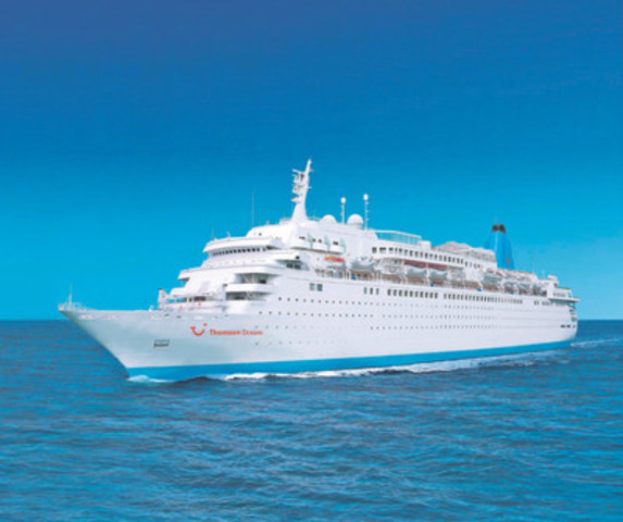 Thomson Dream (CNW Group/Sunwing Vacations)
