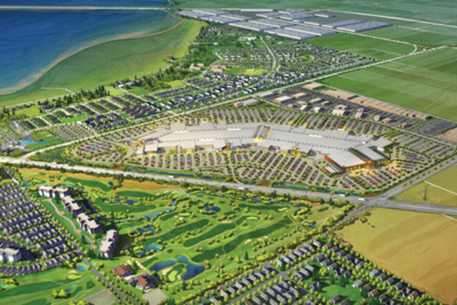 Tsawwassen Mills, Tsawwassen, British Columbia (CNW Group/Ivanhoé Cambridge)