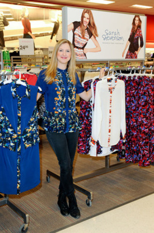 On March 23, Canadian designer Sarah Stevenson celebrated the launch of her limited time only collection for Target at a store in Toronto. The 15 piece floral collection is now available exclusively at Target stores across Canada with pieces ranging from $24.99 - $59.99. (CNW Group/Target Canada)