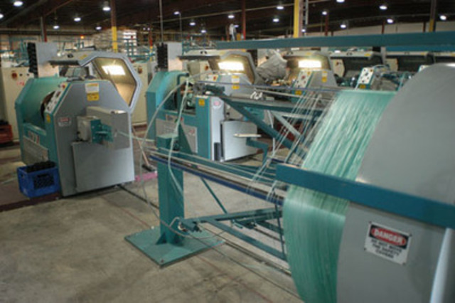 Les produits de corde novateurs Polysteel sont supérieurs en termes de durabilité et de résistance aux cordes traditionnelles (Groupe CNW/Agence de promotion économique du Canada atlantique)