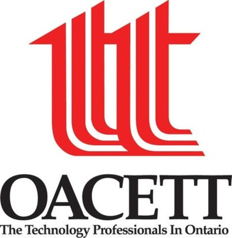 OACETT - Ontario Association of Certified Engineering Technicians & Technologists (CNW Group/OACETT - Ontario Association of Certified Engineering Technicians & Technologists)