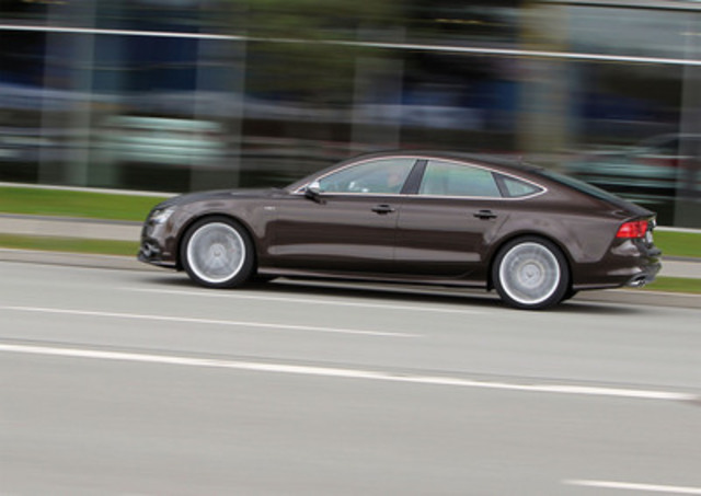 Audi Canada launches the new S7 model (CNW Group/Audi Canada)