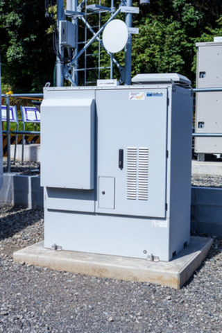 Fuel cell system installed at Nokia Siemens Networks' green energy test site in Japan. IdaTech fuel cell products are now owned and manufactured by Ballard Power Systems. (CNW Group/Ballard Power Systems Inc. )