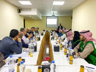 وفد البرنامج السعودي لتنمية وإعمار اليمن يصل إلى عدن للدفع قدما بمسار التنمية من اتفاق الرياض