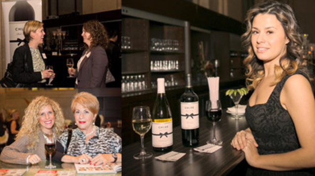 Corby will provide the elegant and timeless Chloe Wine Collection at seven upcoming Women of Influence events, where attendees have the opportunity to connect over drinks and hors d'oeuvres while building a network of professional females. (CNW Group/Corby Spirit and Wine Communications)