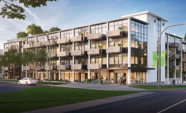 The Wade - A contemporary condominium project in Victoria, BC. (CNW Group/Fortress Real Developments)