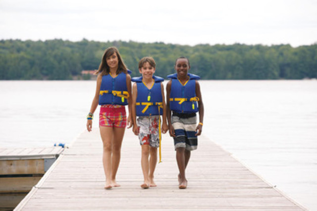 On Camp Day, Wednesday June 3, Tim Hortons restaurant owners donate 100 per cent of the proceeds from coffee sales to the Tim Horton Children's Foundation to help send kids across Canada and the United States to camp. (CNW Group/Tim Hortons)