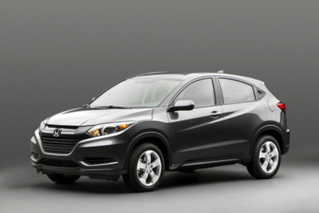 Honda Released The First Official Photos Of Canada Bound HR V At