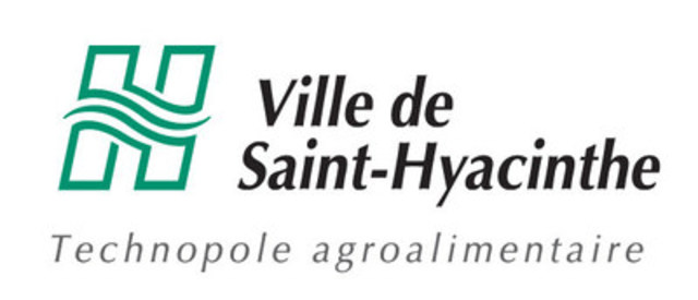 Logo : Ville de Saint-Hyacinthe (Groupe CNW/Ville de Saint-Hyacinthe)