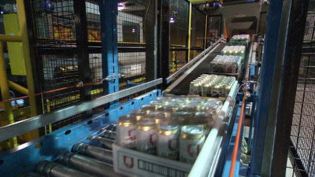 LCBO has won a prestigious international award for its patent-pending auto-palletization technology being used in its Durham Retail Service Centre.  LCBO beat out 60 innovative entries including submissions from the U.S. Marine Corps and Hewlett-Packard. (CNW Group/LCBO)