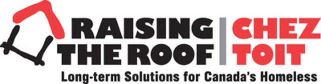 Raising the Roof Logo (CNW Group/Raising the Roof)