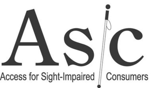 Access for Sight-Impaired Consumers (ASIC) logo (CNW Group/Access for Sight-Impaired Consumers (ASIC))