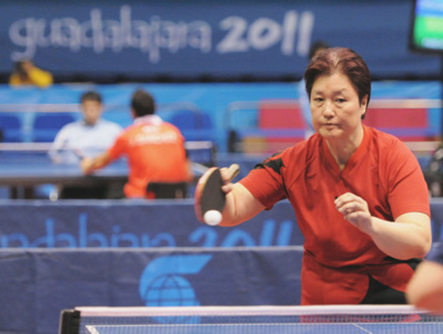 Table Tennis Canada has selected eight athletes for nomination to represent Canada at the Toronto 2015 Parapan American Games, including  2011 Parapan Am Games silver medallist Stephanie Chan (Vancouver, B.C.). Photo: Matthew Murnaghan / Canadian Paralympic Committee  (CNW Group/Canadian Paralympic Committee (CPC))