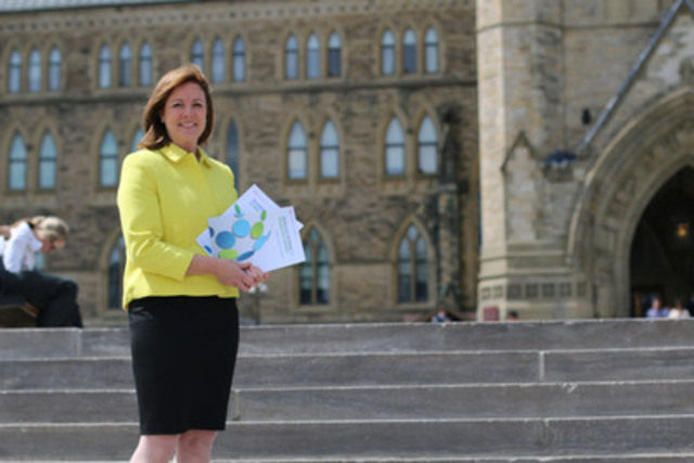 Canada's Financial Literacy Leader, Jane Rooney. (CNW Group/Financial Consumer Agency of Canada)