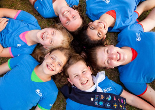 Girl Guides of Canada is thrilled to introduce a stylish new Girl Guide-blue uniform T-shirt that unites all girls in Guiding. Girls in Sparks, Brownies, Guides, Pathfinders and Rangers are all instantly recognizable as part of the same dynamic organization when wearing the new T-shirt. girlguides.ca (CNW Group/Girl Guides of Canada)
