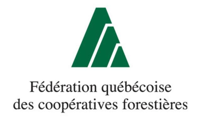 Logo : Fédération québécoise des coopératives forestières (Groupe CNW/Fédération québécoise des coopératives forestières)