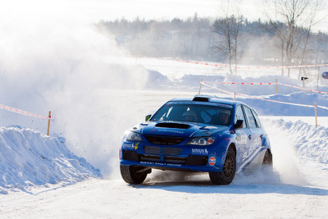 Subaru Claims Four of Top Five Spots at Rallye Perce Neige (CNW Group/Subaru Canada Inc.)