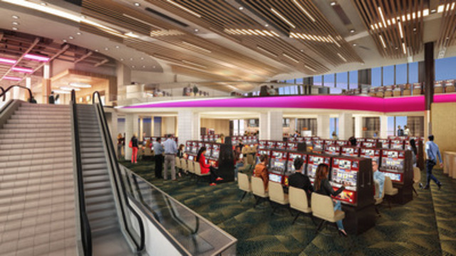 Rendering: Elements Casino - Atrium (CNW Group/Great Canadian Gaming Corporation - Media Relations)