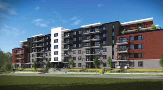 Arrondissement 74 à Charlesbourg : un nouveau projet résidentiel locatif signé GCS Développement Immobilier et le Fonds immobilier de solidarité FTQ (Groupe CNW/Fonds de solidarité FTQ)
