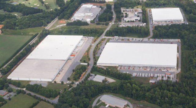 6104 & 6105 Corporate Park Drive, Greensborough, NC (CNW Group/Pure Industrial Real Estate Trust (PIRET))