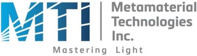 Logo : Metamaterial Technologies Inc. (CNW Group/Metamaterial Technologies Inc.)
