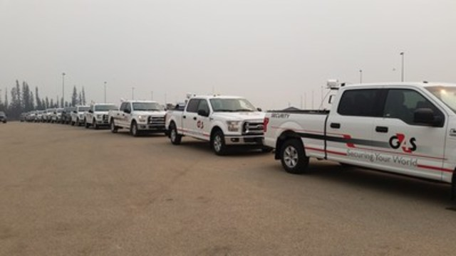 Many G4S vehicles have been deployed around the city, helping to secure abandoned homes, businesses and other critical infrastructure. (CNW Group/G4S Canada)
