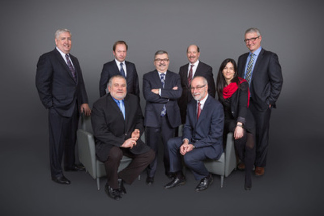 McInnis Cement executive team complete - Corporate office relocated in Montreal. (CNW Group/McInnis Cement)