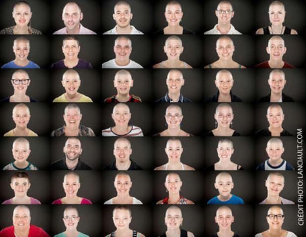 Le Défi têtes rasées Leucan (Groupe CNW/Leucan)