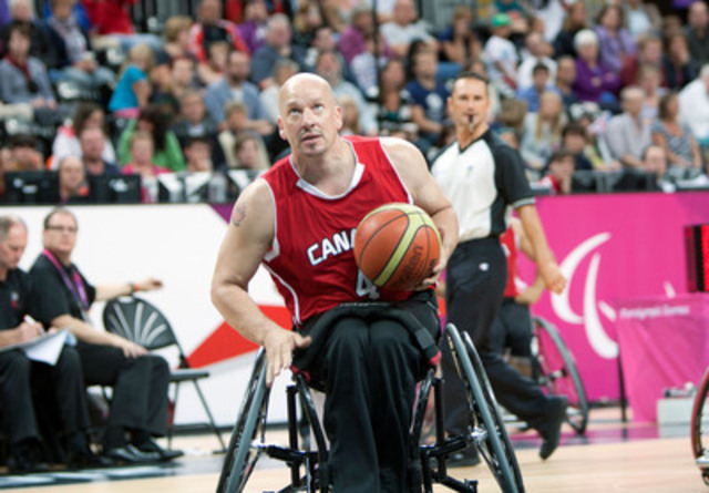 It is with great respect and admiration that the Canadian Paralympic Committee celebrates the career of wheelchair basketball veteran David Durepos (Fredericton, N.B.), who has announced his retirement from competition after a 19-year career that included three Paralympic gold medals. (CNW Group/Canadian Paralympic Committee (CPC))