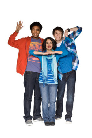 L-R, Dalmar, Kara and Drew, hosts of The Space, TVOKids' afterschool programming block. (CNW Group/TVO)