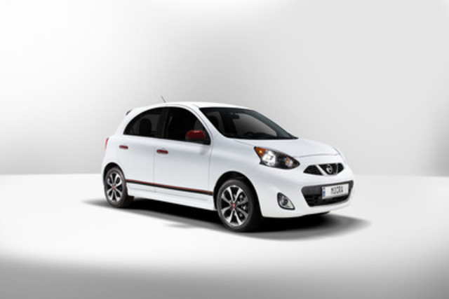 2015 Micra pricing of $9,998 makes it Canada's lowest MSRP (CNW Group/Nissan Canada Inc.)