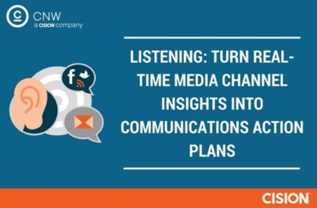LISTENING: TURN REAL-TIME MEDIA CHANNEL INSIGHTS INTO COMMUNICATIONS ACTION PLANS (CNW Group/CNW Group Ltd.)