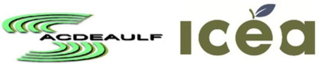 Logo de l'ICÉA et de lACDEAULF (Groupe CNW/Institut de coopération pour l'éducation des adultes (ICÉA))