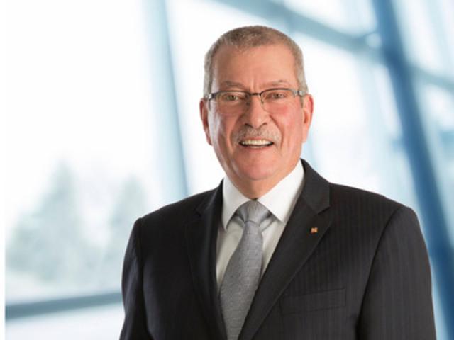 Élection de Robert (Bob) Steane, vice-président principal et directeur de l'exploitation de la société mondiale de production d'uranium Cameco Corporation, au poste de président du conseil d'administration de l'AMC (Groupe CNW/Association minière du Canada (AMC))