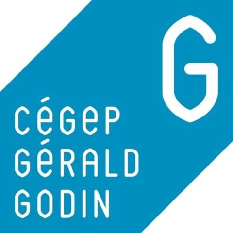 Logo : Cégep Gérald-Godin (Groupe CNW/Cégep Gérald-Godin)
