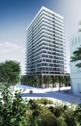 Exterior view of YOO Montreal. (CNW Group/YOO Montreal)