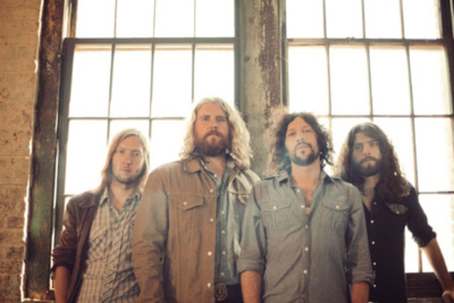 The Sheepdogs (CNW Group/CBC/RADIO-CANADA)