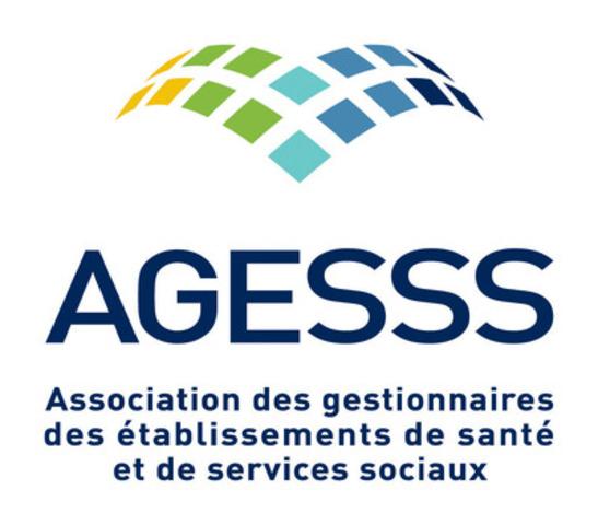 Logo. (Groupe CNW/Association des gestionnaires des établissements de santé et de services sociaux (AGESSS))